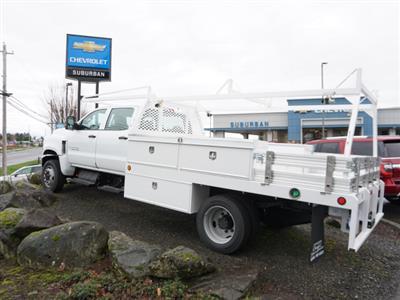 2020 Chevrolet Silverado 5500 Crew Cab DRW 4x4, Scelzi CTFB Contractor Body #T200929 - photo 2