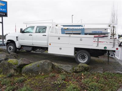2020 Chevrolet Silverado 5500 Crew Cab DRW 4x4, Scelzi CTFB Contractor Body #T200929 - photo 8