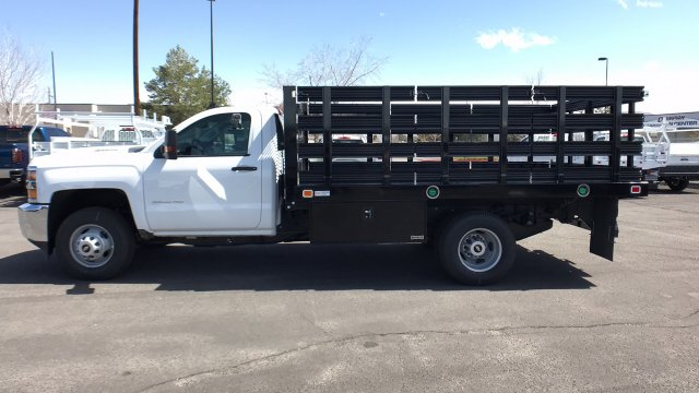 2018 Silverado 3500 Regular Cab DRW, Knapheide Stake Bed #18-1154 - photo 11