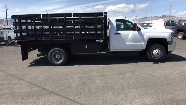 2018 Silverado 3500 Regular Cab DRW, Knapheide Stake Bed #18-1154 - photo 5