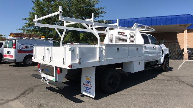 2019 Silverado Medium Duty Crew Cab DRW 4x4,  Contractor Body #19-1155 - photo 1