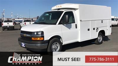 2020 Chevrolet Express 3500 RWD, Knapheide KUV Service Utility Van #20-0532 - photo 1