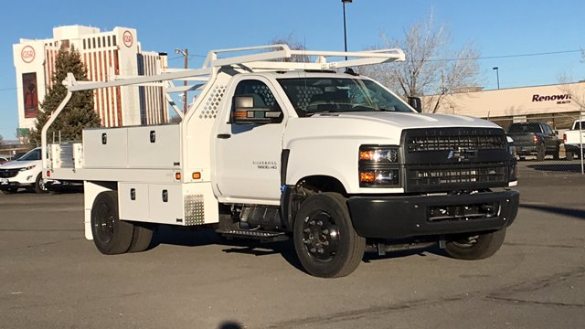 2020 Chevrolet Silverado 5500 Regular Cab DRW 4x2, Knapheide Contractor Body #20-1674 - photo 1