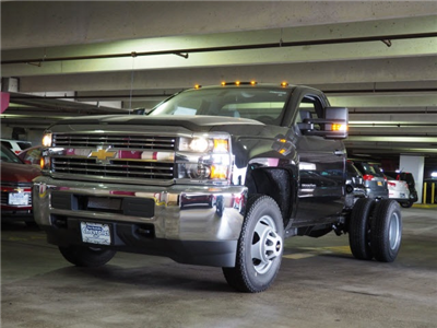 2017 Silverado 3500 Regular Cab DRW 4x4, Cab Chassis #N170917 - photo 1