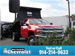2018 Silverado 3500 Regular Cab DRW 4x4,  Air-Flo Dump Body #N180955T - photo 1