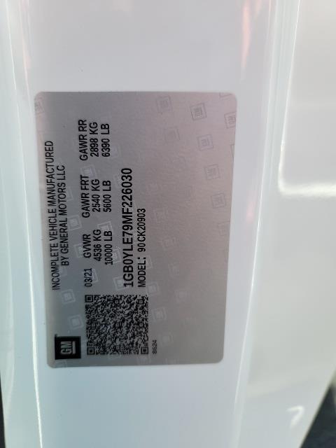 2021 Silverado 2500 Regular Cab 4x4,  Reading Classic II Steel Service Body #N210799T - photo 12
