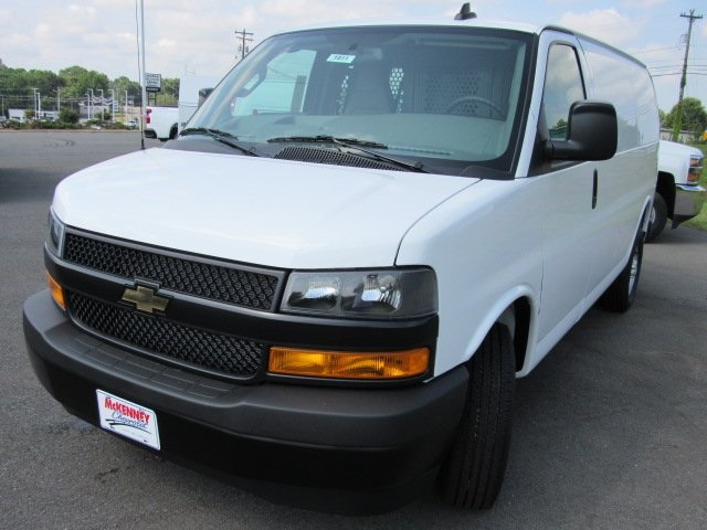 2019 Express 2500 4x2, Adrian Steel Commercial Shelving Upfitted Cargo Van #T1811 - photo 4