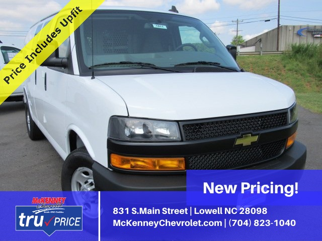 2019 Express 2500 4x2, Adrian Steel Commercial Shelving Upfitted Cargo Van #T1863 - photo 1