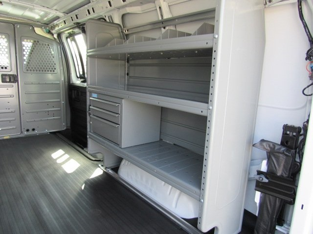 2019 Express 2500 4x2, Adrian Steel Commercial Shelving Upfitted Cargo Van #T1863 - photo 19