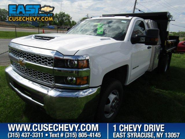 East Syracuse Chevrolet >> 2019 Silverado 3500 Regular Cab Drw 4x4 Air Flo Pro Class Dump Body Stock 14869