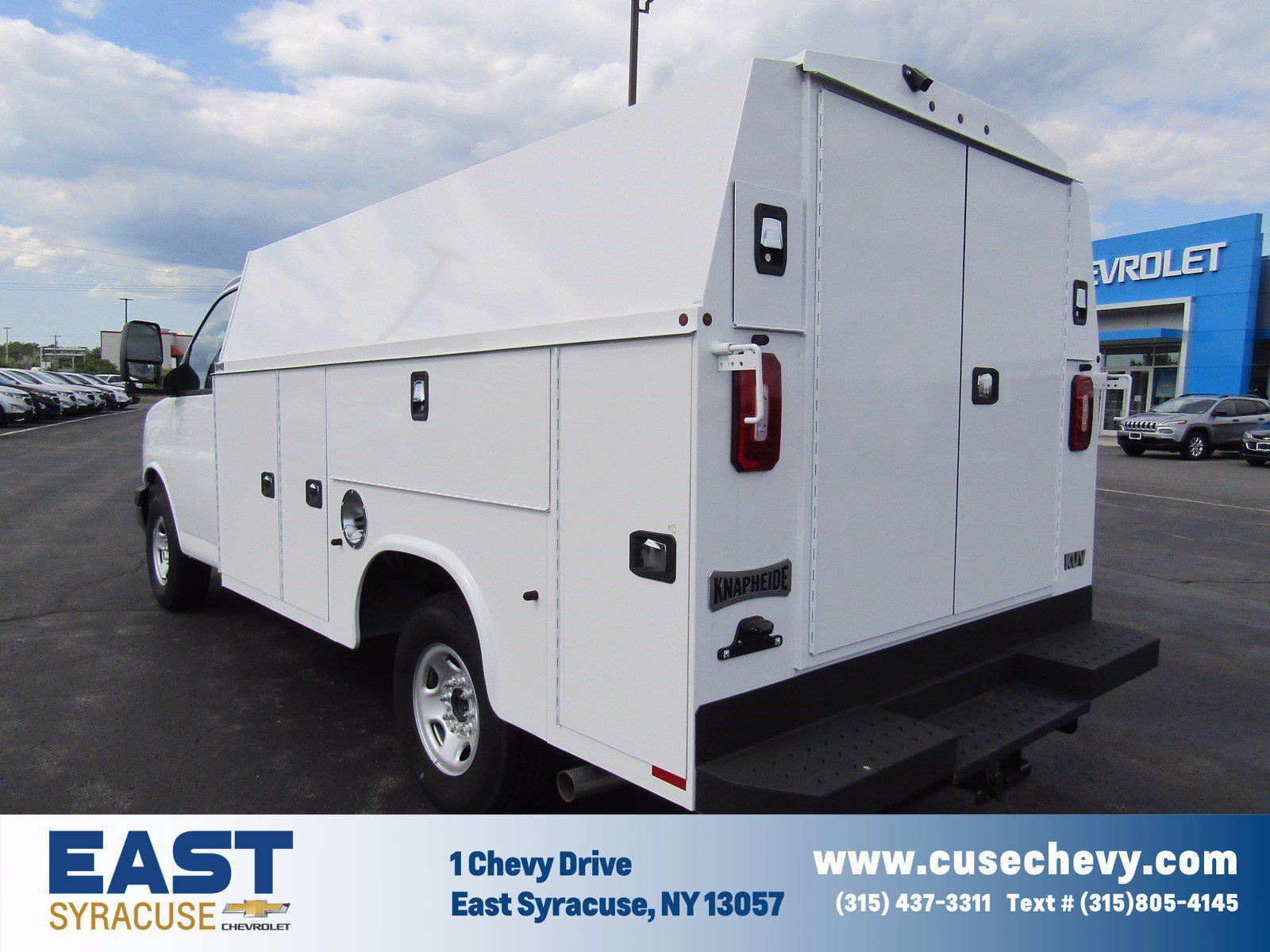 2021 Chevrolet Express 3500 4x2, Service Utility Van #17875 - photo 1