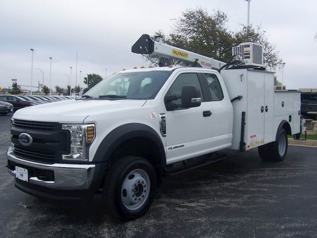 2019 F-550 Super Cab DRW 4x4, Palfinger PAL Pro 43 Mechanics Body #KEC46318 - photo 3