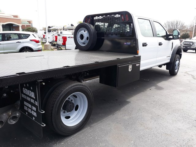 2019 F-550 Crew Cab DRW 4x4, CM Truck Beds RD Model Platform Body #KED03546 - photo 7