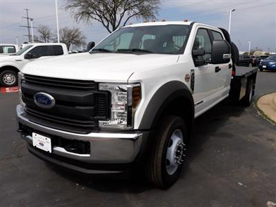 2019 F-550 Crew Cab DRW 4x4, CM Truck Beds RD Model Platform Body #KED03546 - photo 1