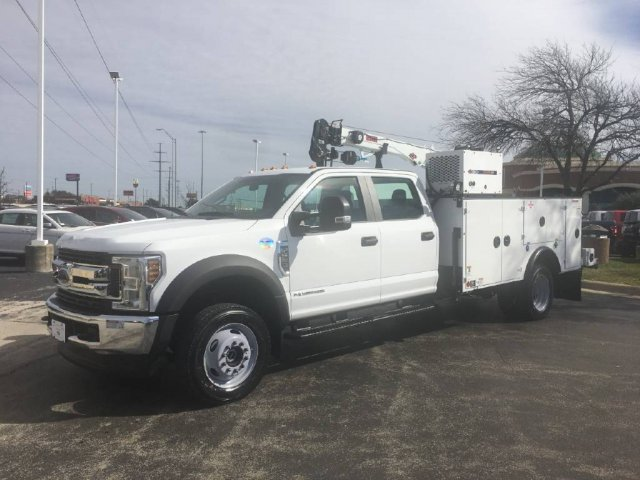 2019 F-550 Crew Cab DRW 4x4,  Mechanics Body #KED70814 - photo 1