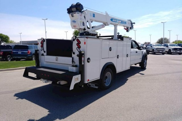 2019 F-550 Crew Cab DRW 4x4, Auto Crane Titan Mechanics Body #KEE28809 - photo 5