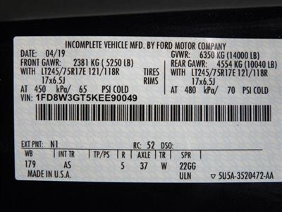 2019 F-350 Crew Cab DRW 4x2, Cab Chassis #KEE90049 - photo 20