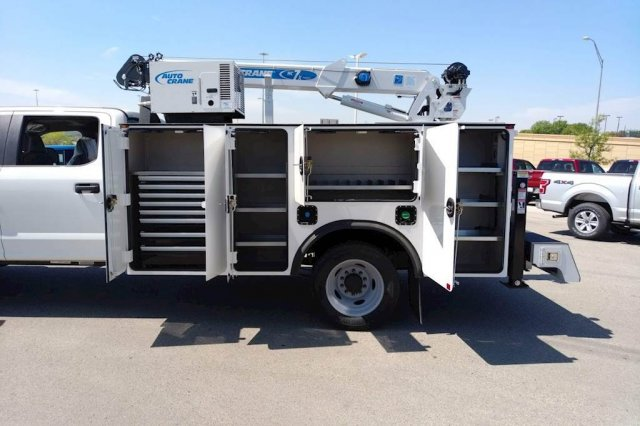 2019 F-550 Crew Cab DRW 4x4, Auto Crane Titan Mechanics Body #KEE93344 - photo 7