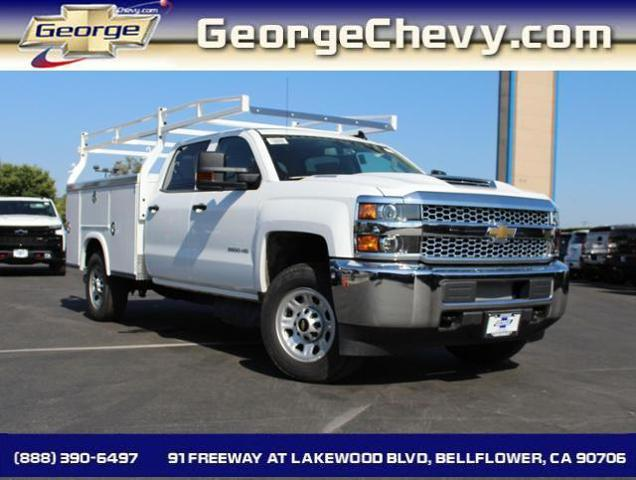 2019 Silverado 3500 Crew Cab 4x2,  Royal Service Body #192097 - photo 1