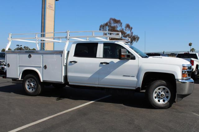 2019 Silverado 3500 Crew Cab 4x2,  Royal Service Body #192097 - photo 2