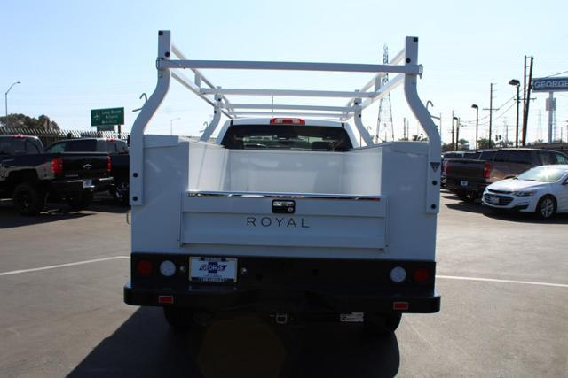 2019 Silverado 3500 Crew Cab 4x2,  Royal Service Body #192098 - photo 3