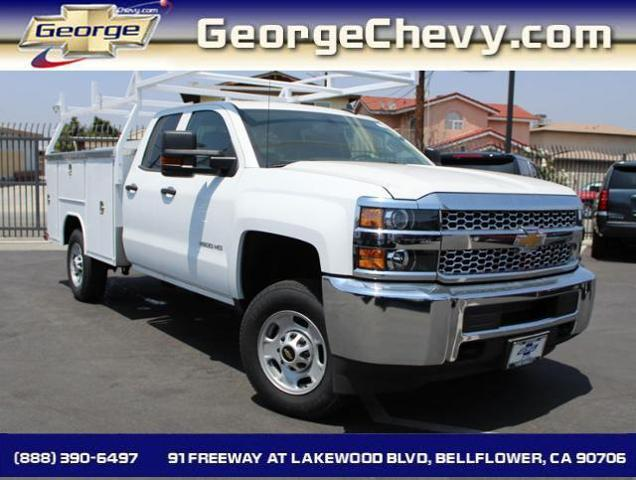 2019 Silverado 2500 Double Cab 4x2, Royal Service Body #192830 - photo 1