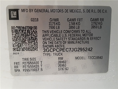 2018 Silverado 1500 Crew Cab 4x2,  Pickup #44601 - photo 22