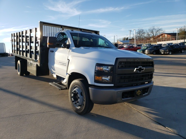 2019 Chevrolet Silverado 6500 Regular Cab DRW 4x2, CM Truck Beds PL Model Stake Bed #45810 - photo 3