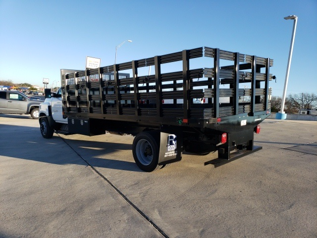 2019 Chevrolet Silverado 6500 Regular Cab DRW 4x2, CM Truck Beds PL Model Stake Bed #45810 - photo 2