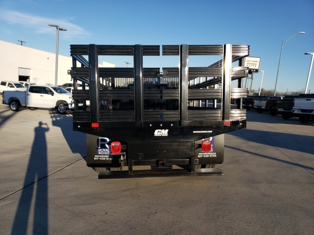 2019 Chevrolet Silverado 6500 Regular Cab DRW 4x2, CM Truck Beds PL Model Stake Bed #45810 - photo 6