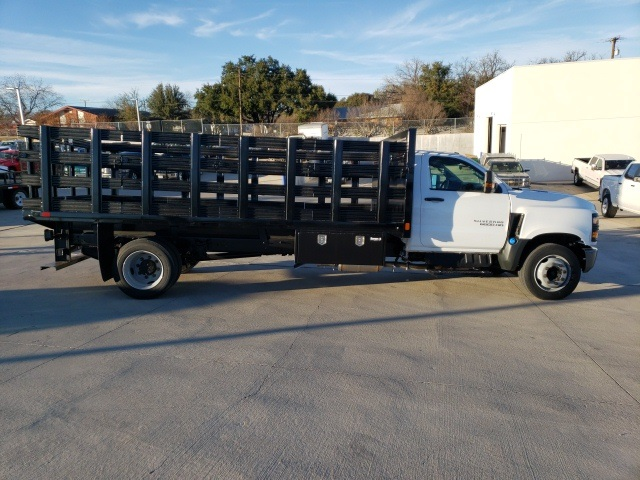 2019 Chevrolet Silverado 6500 Regular Cab DRW 4x2, CM Truck Beds PL Model Stake Bed #45810 - photo 8