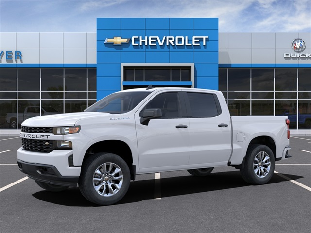 2021 Chevrolet Silverado 1500 Crew Cab 4x2, Pickup #47856 - photo 3