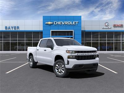 2021 Chevrolet Silverado 1500 Crew Cab 4x2, Pickup #47856 - photo 1