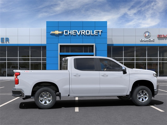 2021 Chevrolet Silverado 1500 Crew Cab 4x4, Pickup #B1839 - photo 5
