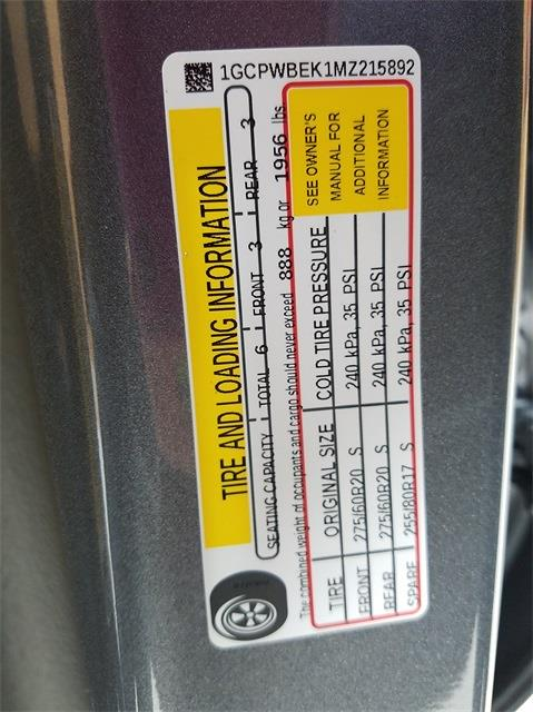 2021 Chevrolet Silverado 1500 Crew Cab 4x2, Pickup #48464 - photo 22