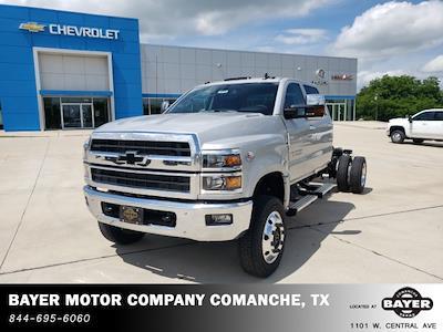 2021 Chevrolet Silverado 5500 Crew Cab DRW 4x4, Cab Chassis #48498 - photo 4
