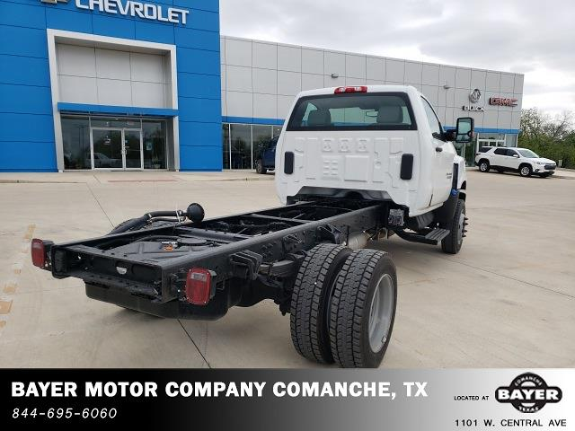 2021 Chevrolet Silverado 4500 Regular Cab DRW 4x4, Cab Chassis #48674 - photo 4
