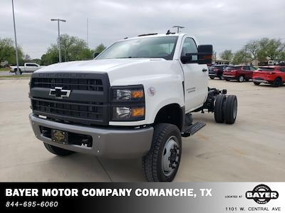 2021 Chevrolet Silverado 4500 Regular Cab DRW 4x4, Cab Chassis #48674 - photo 1
