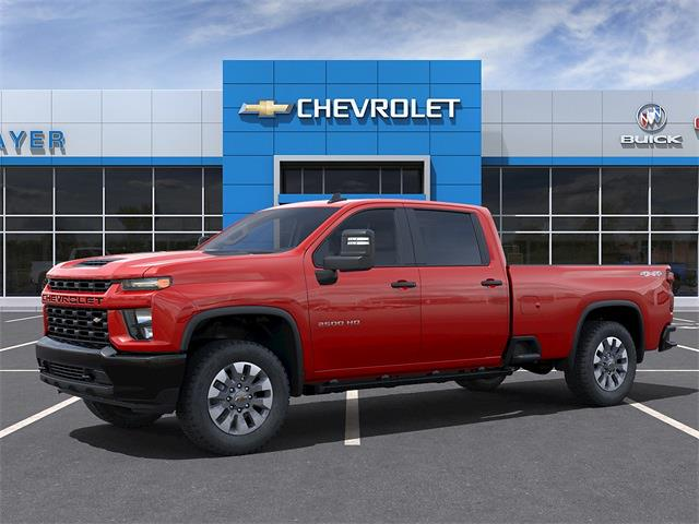 2021 Chevrolet Silverado 2500 Crew Cab 4x4, Pickup #48958 - photo 3