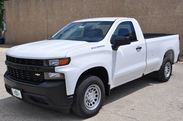 2019 Silverado 1500 Regular Cab 4x4 Pickup Stock B1168