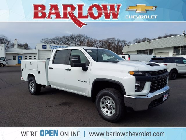 2021 Chevrolet Silverado 3500 Crew Cab 4x2, Reading Service Body #125027 - photo 1