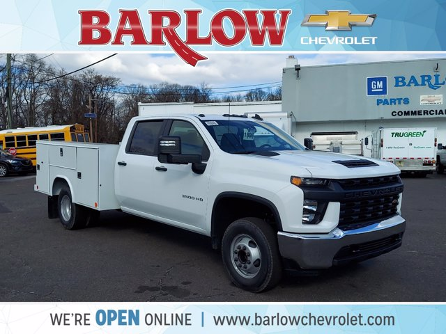2021 Chevrolet Silverado 3500 Crew Cab 4x2, Reading Service Body #129424 - photo 1
