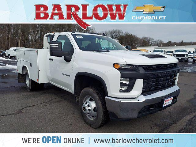2021 Chevrolet Silverado 3500 Regular Cab AWD, Reading Service Body #143024 - photo 1