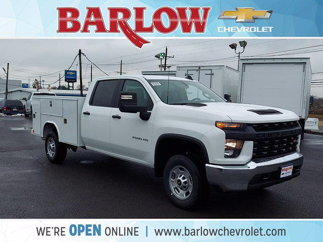 2021 Chevrolet Silverado 2500 Crew Cab 4x2, Reading Service Body #155928 - photo 1