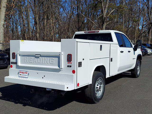 2021 Chevrolet Silverado 2500 Double Cab 4x4, Reading Service Body #156093 - photo 1