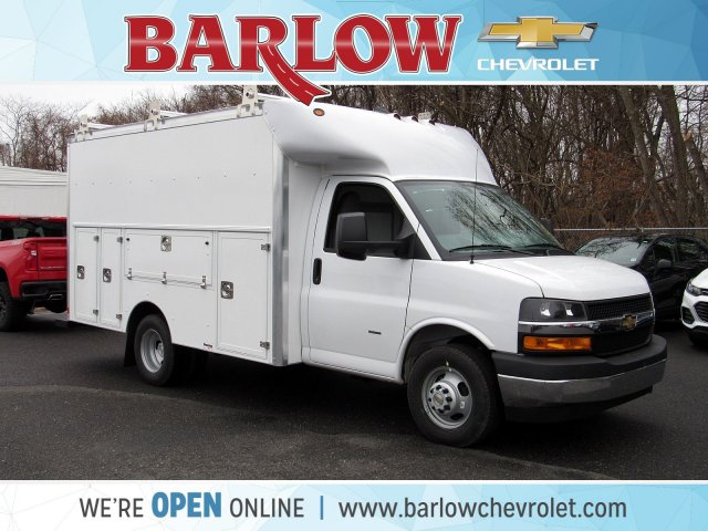 2020 Chevrolet Express 3500 4x2, Supreme Service Utility Van #2198 - photo 1