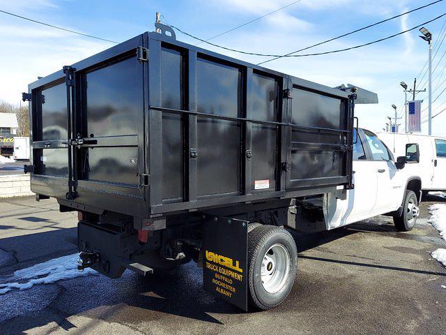 2020 Chevrolet Silverado 3500 Crew Cab DRW 4x4, Landscape Dump #323090 - photo 1
