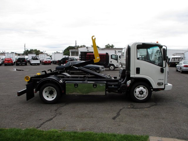 2018 LCF 4500 Regular Cab 4x2,  Palfinger Hooklift Body #801995 - photo 5