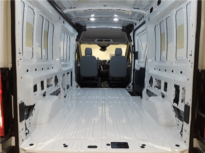2018 Transit 250 Med Roof 4x2,  Empty Cargo Van #F20496 - photo 2