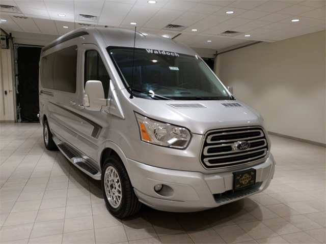 2018 Transit 250 Med Roof 4x2,  Passenger Wagon #F20716 - photo 3
